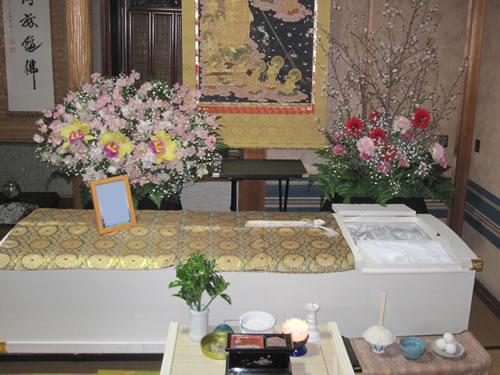 自宅葬,家族葬,四日市市,葬儀,亀山,鈴鹿